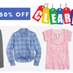 J. Crew Factory: EXTRA 50% off Clearance!