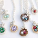 Mama Bird Wire Nest Necklace Ships For $11.64!