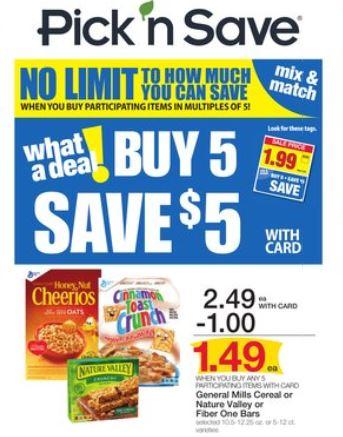 Pick n save coupon book matchups
