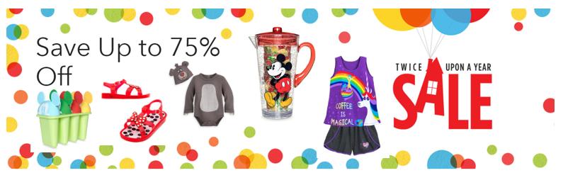 Shop Disney: Save 75% on Disney Merchandise with Promo Code!