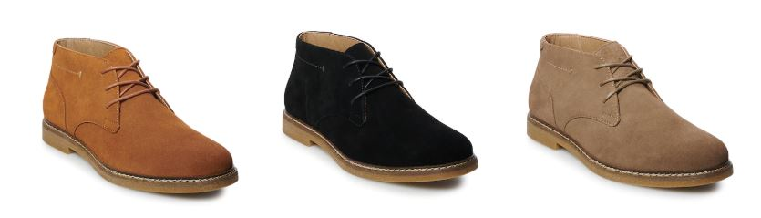 Clearance: Men's Suede Chukka Boots