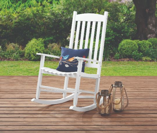 Swell Solid Wood Slat Outdoor Rocking Chair 69 97 Free Shipping Bralicious Painted Fabric Chair Ideas Braliciousco