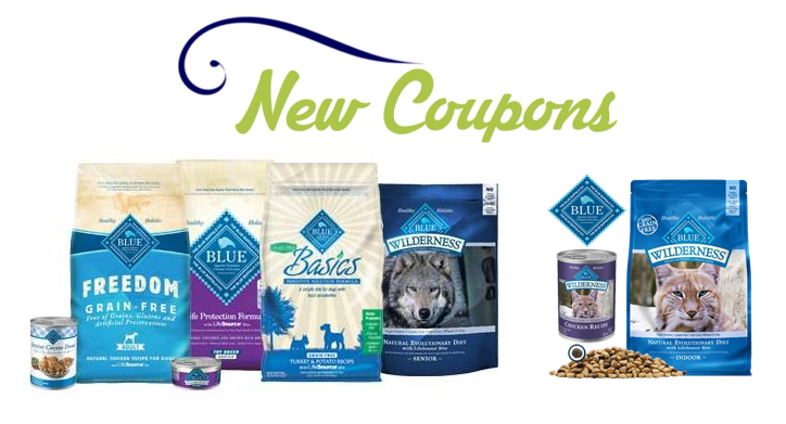 graphic regarding Dog Food Coupons Printable named Printable Discount codes: Conserve $7.00 upon Blue Cat or Canine Food stuff Items