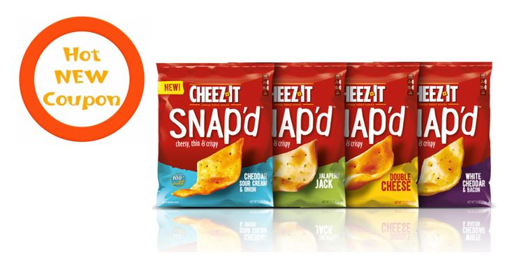 photograph regarding Cheez It Coupon Printable identify Printable Coupon codes: Help save $0.75 upon (1) Cheez-It Snapd