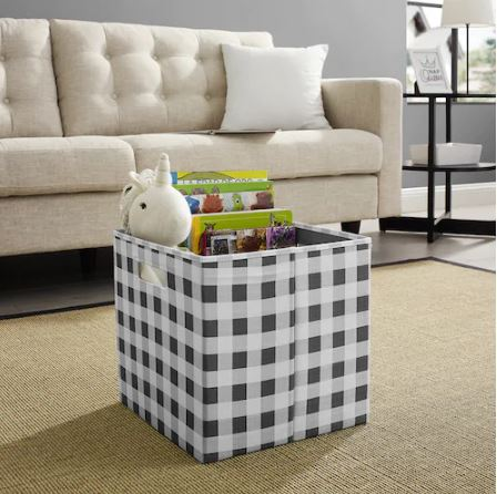 Great Price On These 13 Inch Folding Storage Bins With Double Promo Code Stack