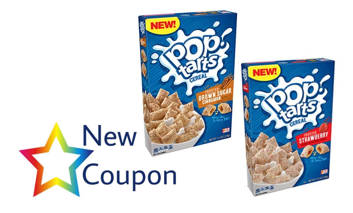 "graphic about Pop Tarts Coupon Printable titled Printable Coupon: Help you save $0.50 upon Just one Pop-Tartsâ""¢ Cereal"