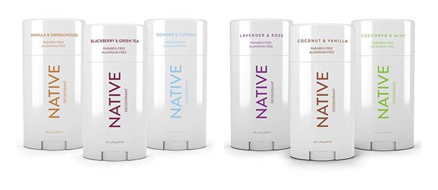Deal of the Day: Native Deodorant Pack of 3