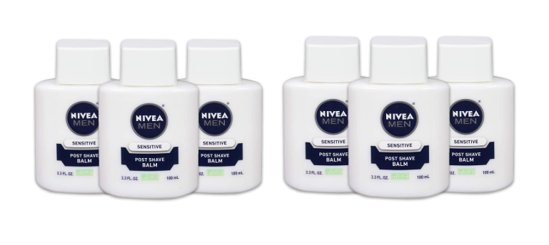 picture about 3.00 Off Nivea Printable Coupon identified as Pack of 3 NIVEA Adult males Delicate Write-up Shave Balm $10.45