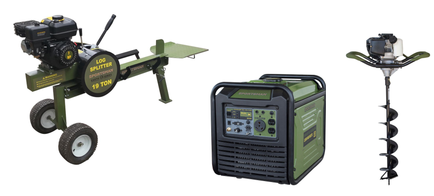 Deal of the Day: Generators, Log Splitters and Augers