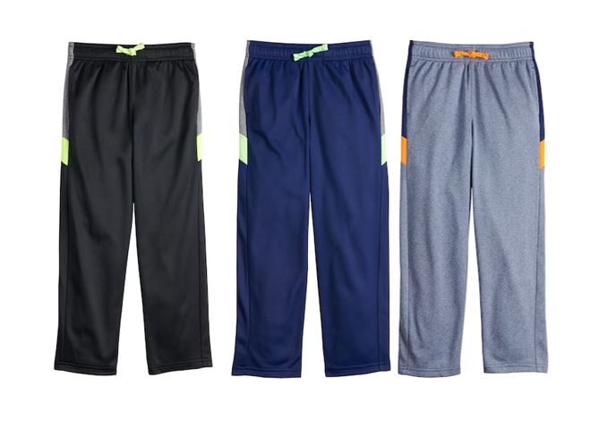Jumping Beans Boys Tricot Active Pants
