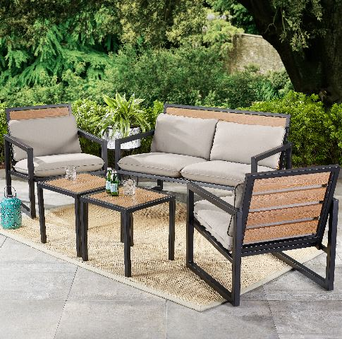 Summer Clearance Patio Loveseat And 2