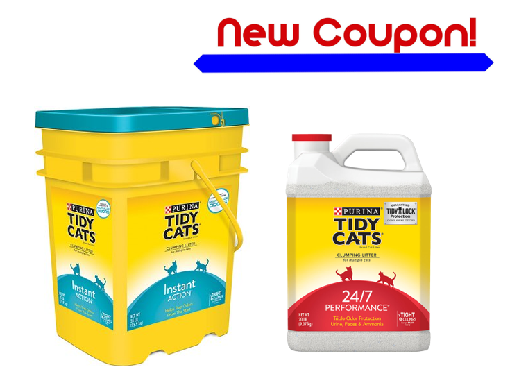 picture regarding Tidy Cat Printable Coupons identify Printable Coupon: Preserve $1.00 upon (1) bundle of Purina TIDY