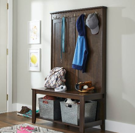 Clearance Better Homes Amp Gardens Parker Hall Tree Bench