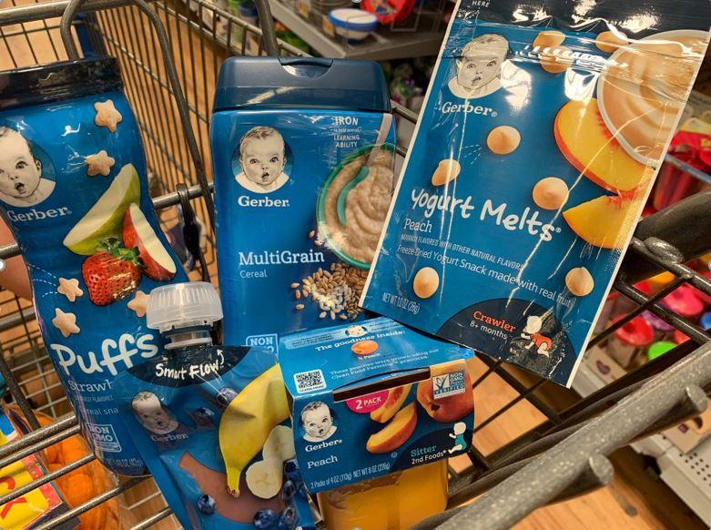 Printable Coupons Save 13 00 On Gerber Baby Food Formula