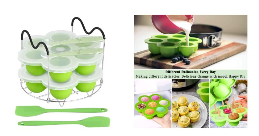 Popsicle Mlods and Egg Bites Mold Accessories Set For Instant Pot 2 in 1