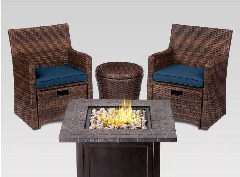 Nice Savings Halsted 5pc Wicker Small Space Patio Furniture Set,What Color Shirt Goes With Light Purple Pants