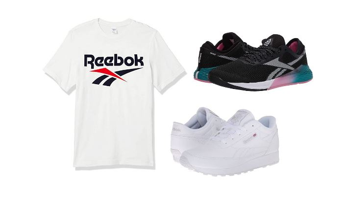 reebok apparel