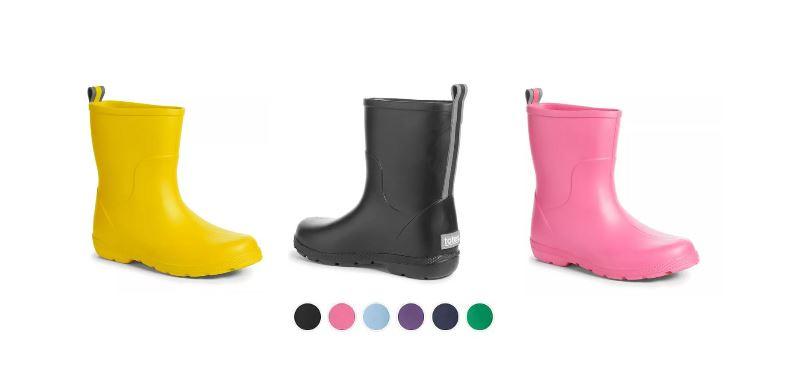totes Big Kids Waterproof Rain Boots